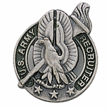 U.S. ARMY RECRUITING PIN