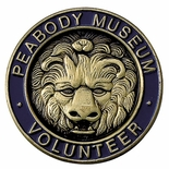 PEABODY MUSEUM VOLUNTEER PIN