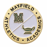MAYFIELD ATHLETICS AND ACADEMIC PIN