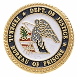 DEPARTMENT OF JUSTICE FEDERAL BUREAU OF PRISON PIN
