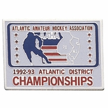 ATLANTIC DISTRICT HOCKEY CHAMPIONSHIPS PIN