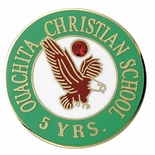 QUACHITA CHRISTIAN SCHOOL YEARS OF SERVICE PIN