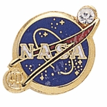 NASA YEARS OF SERVICE PIN