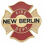NEW BERLIN FIRE DEPARTMENT PIN