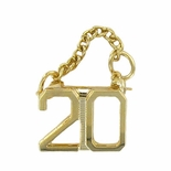 20 YEAR GUARD PIN WITH CHAIN