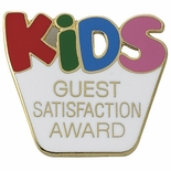 KIDS SATISFACTION AWARD PIN