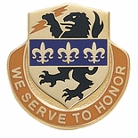 WE SERVE TO HONOR INSIGNIA