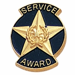 SERVICE AWARD PIN STAR