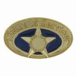 YEARS OF SERVICE PIN, GOLD STAR