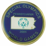 SPECIAL OLYMPICS PENNSYLVANIA WORLD GAMES PIN