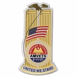 AMERICAN VETERANS UNITED WE STAND PIN