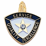 SERVICE QUALITY EXCELLENCE PIN