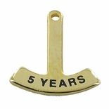 5/8 INCH ROCKER BAR  - SELECTION OF IMPRINTED YEARS
