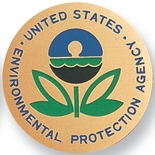 U.S.ENVIRONMENTAL PROTECTION, 2 INCH ETCHED ENAMELED