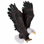 RESIN EAGLE PLAQUE MOUNT, 7