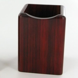 PEN AND PENCIL HOLDER, ROSEWOOD