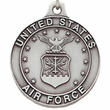 U.S. AIR FORCE PEWTER KEY CHAIN