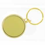 SPLIT KEY RING HOLDS 1-3/4 INCH GOLD INSERT