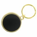 SPLIT KEY RING HOLDS 1-3/4 INCH BLACK INSERT