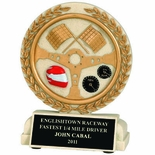 5-1/2 INCH AUTO RACING RESIN TROPHY