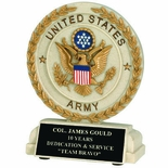 5-1/2 INCH U.S. ARMY RESIN TROPHY