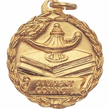 1-1/8 INCH MEDAL, STUDENT COUNCIL