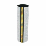 1-3/4 INCH ROUND PLASTIC MOONBEAM SERIES TROPHY COLUMN, SILVER