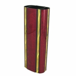 2-3/4 INCH OVAL PLASTIC MOONBEAM SERIES TROPHY COLUMN, MAROON