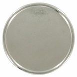 PLAQUE MOUNT HOLDS 2 INCH INSERT, SILVER