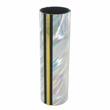 1-3/4 INCH ROUND PLASTIC SPLASH SERIES TROPHY COLUMN, SILVER