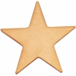 STAR PIN GOLD 1 INCH FLAT