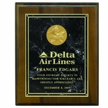 8 X 10 INCH PLAQUE WITH MARBLEIZED PLATE TAKES INSERT
