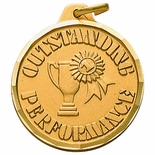 1-1/4 INCH OUTSTANDING PERFORMANCE, GOLD