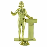 PUBLIC SPEAKER FEMALE TROPHY FIGURE