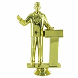 PUBLIC SPEAKER MALE TROPHY FIGURE