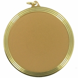 2-3/8 DIE STRUCK INCH MEDAL HOLDS 2 INCH INSERT - MULTIPLE COLORS