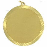 2-3/8 INCH DIE STRUCK MEDAL HOLDS 2 INCH INSERT - MULTIPLE COLORS