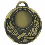2 INCH MEDAL FRAME HOLDS 1 INCH INSERT - MULTIPLE COLORS