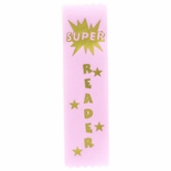 SUPER READER 1-5/8 X 6 STOCK PINK RIBBON