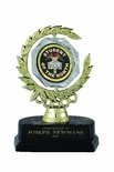6 INCH SPINNER WREATH TROPHY WITH STUDENT OF THE MONTH INSERT