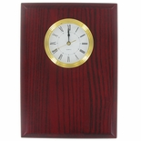 GENUINE ROSEWOOD CLOCK PLAQUE