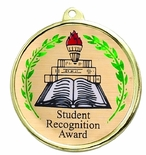 STUDENT RECOGNITION AWARD MYLAR MEDAL