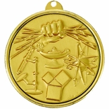 2-1/4 INCH SCIENCE FAIR MEDAL, MULTIPLE COLORS
