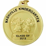 1-1/2 INCH PRE-SCHOOL GRADUATION FOR IMPRINT, GOLD
