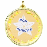 2-1/4 INCH MOST IMPROVED MYLAR MEDAL