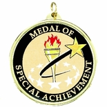 2-1/4 INCH SPECIAL ACHIEVEMENT MYLAR MEDAL