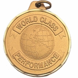 1-1/2 INCH WORLD CLASS PERFORMANCE GLOBE, GOLD