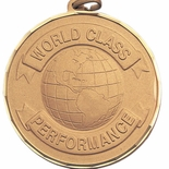2 INCH WORLD CLASS PERFORMANCE GLOBE, GOLD