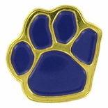 PAW PRINT PIN, PURPLE