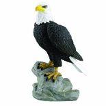 8-1/4 INCH HAND PAINTED MAJESTIC EAGLE